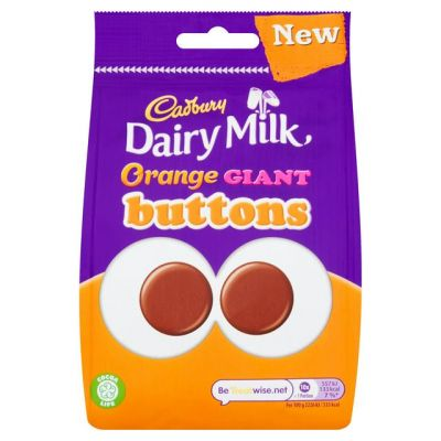 Bild av Cadbury Dairy Milk Orange Buttons 95g