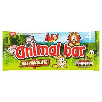 Bild av Nestle Animal Milk Chocolate Bar 76g