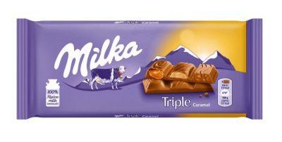 Bild av Milka Triple Caramel 90g