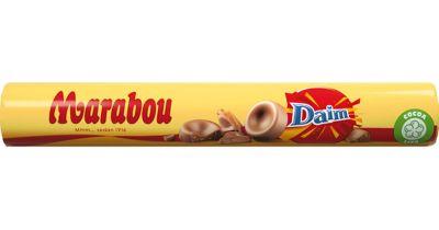 Bild av Marabou Mjölkchoklad med Daim Rulle 67g