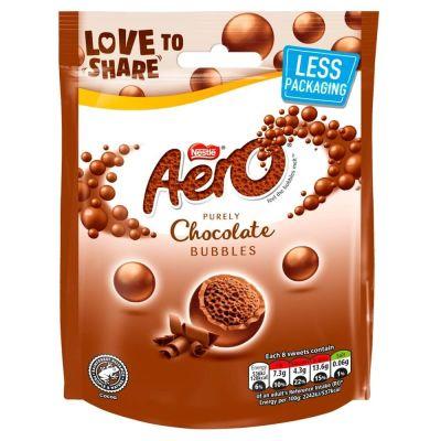 Bild av Aero Bubbles Milk Chocolate Bag 102g