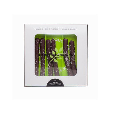 Bild av CHOKLADBUDET - Chokladdoppad lakrits med havssalt