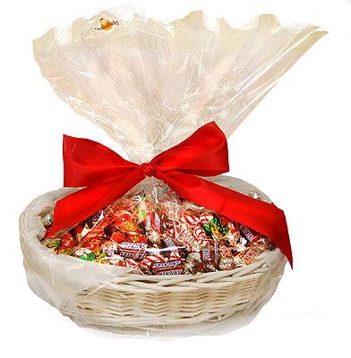 Bild av CHOKLADBUDET - Härlig julkorg med 2 kg choklad