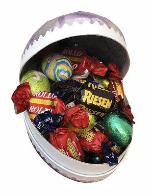 Bild av Påskägg fylld med choklad