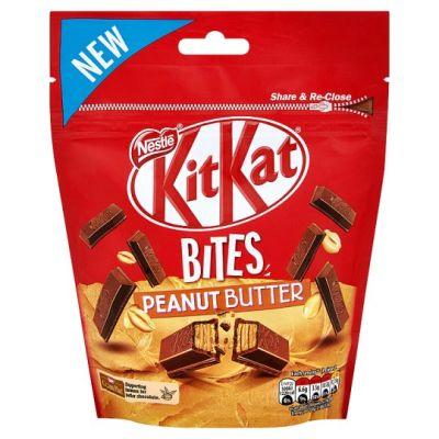 Bild av KitKat Bites Peanut Butter Bag 104g