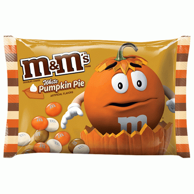 Bild av M&Ms White Chocolate Pumpkin Pie 227g