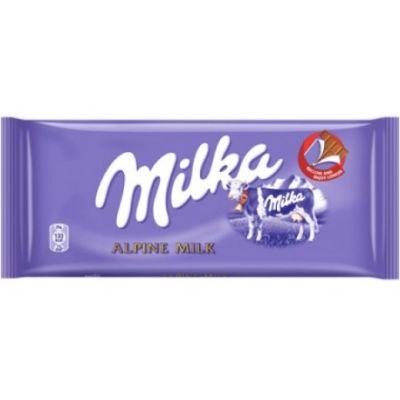Bild av Milka Alpine Milk 100g