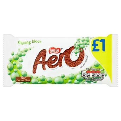 Bild av Aero Peppermint Mint Chocolate Bar 90g