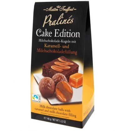 Bild av Pralines cake edition - caramel & milk chocolate 148g