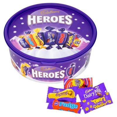 Bild av Cadbury Heroes Burk 600g