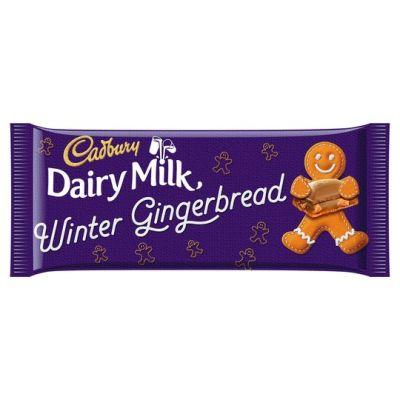 Bild av Cadbury Dairy Milk Gingerbread 120g