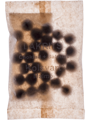Bild av Kolsvart Lakrits - Choklad + Salmiak 120g