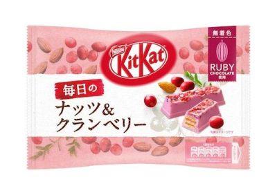 Bild av KitKat Ruby Rich Cranberry & Almond