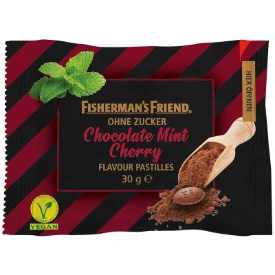 Bild av Fishermans Friend Chocolate Mint Cherry 25g