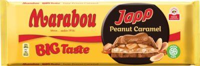 Bild av Marabou Big Taste Japp Peanut Caramel 276g