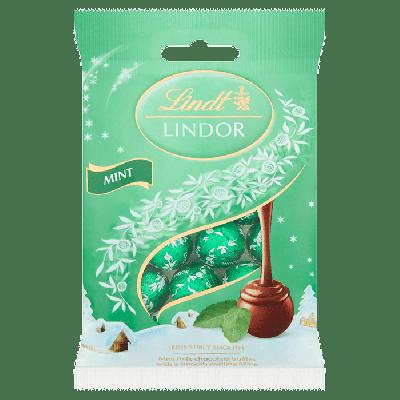 Bild av Lindor Mini Truffles Mint 80g