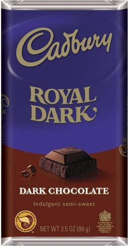 Bild av Cadbury Royal Dark Chocolate 99g