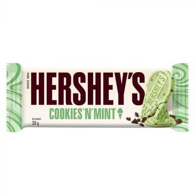 Bild av Hersheys Cookies N Mint 39g