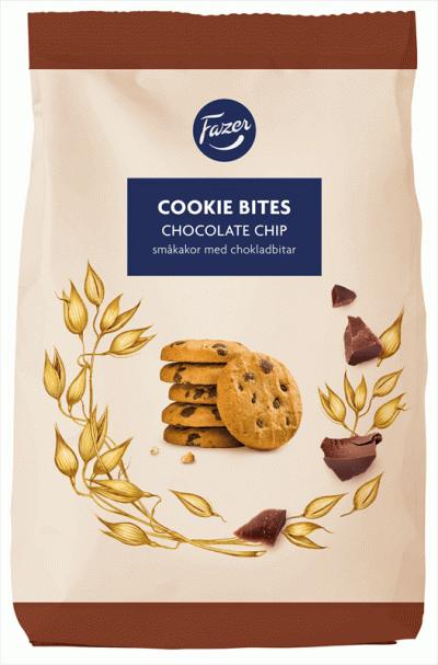 Bild av Fazer Cookie Bites Chocolate Chip 270g