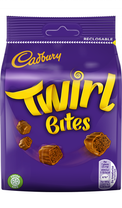 Bild av Cadbury Twirl Bites 109g