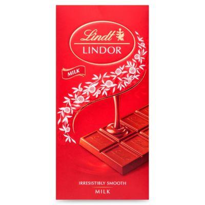 Bild av Lindor Milk Chocolate Bar 100g