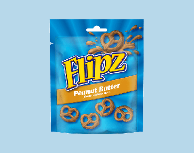 Bild av Flipz Peanut Butter Pretzels 90g