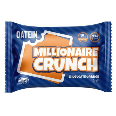 Bild av Oatein Millionaire Crunch - Chocolate Orange 58g