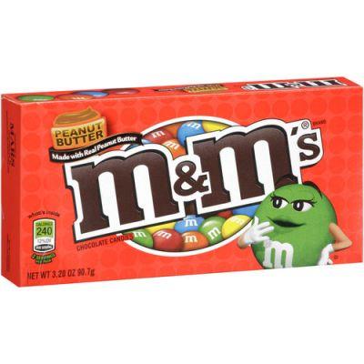 Bild av M&Ms Peanut Butter Box 85.1gram