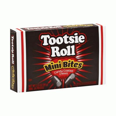 Bild av Tootsie Roll Mini Bites 99g