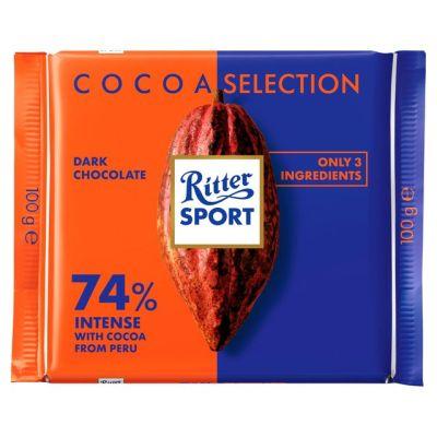 Bild av Ritter Sport Intense 74% Peru 100g