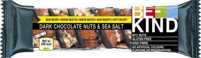 Bild av Be-Kind Dark Choco Nuts & Sea Salt 40g