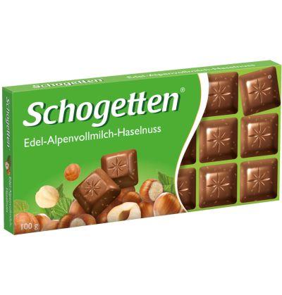Bild av Schogetten Chocolate Hazelnuts 100g