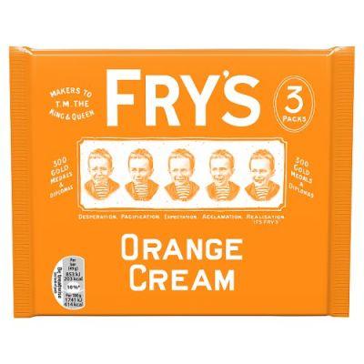 Bild av Frys Orange Cream 3-pack