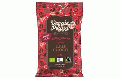 Bild av Veggie Peggy - Chokladdoppade Jordgubbar 50g