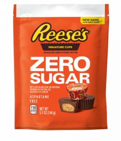 Bild av Reeses ZERO Sugar Peanut Butter Miniature Cups 145g