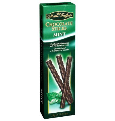 Bild av Maitre Truffout - Chocolate Sticks Mint 75g