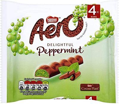Bild av Aero Bubbly Peppermint Bar 4-pack