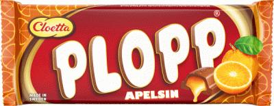 Bild av Plopp Apelsin 80g