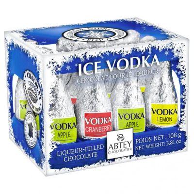 Bild av Casier Spritfyllda Chokladflaskor - Vodka 108g