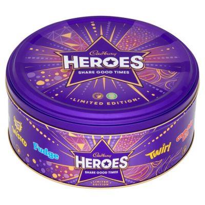 Bild av Cadbury Heroes Plåtburk 800g