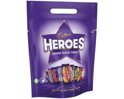 Bild av Cadbury Heroes Pouch 357g
