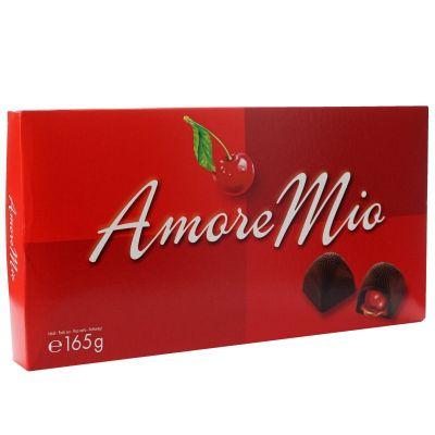 Bild av Amore Mio Chokladlikör Körsbär i Ask 165g