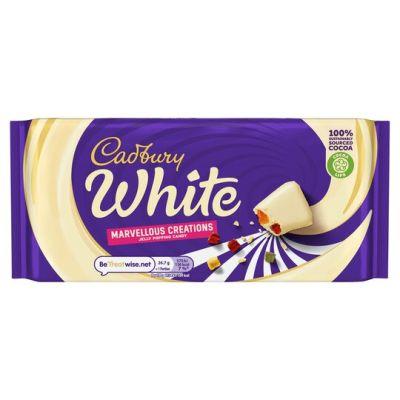 Bild av Cadbury White Chocolate Jelly Popping Candy 160g