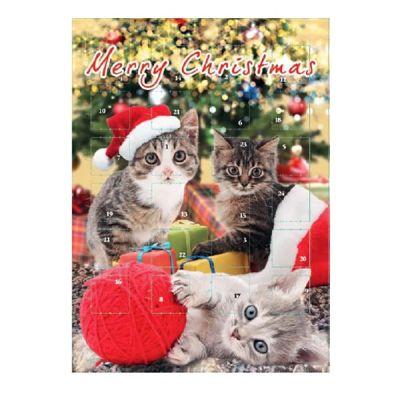 Bild av Adventskalender Choklad Katt 75g