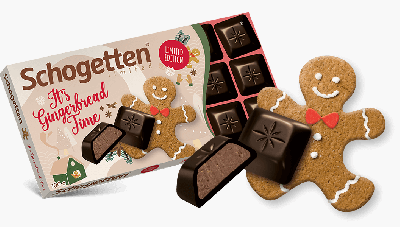 Bild av Schogetten Chocolate Gingerbread 100g