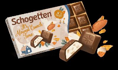Bild av Schogetten Chocolate Almond Crunch 100g
