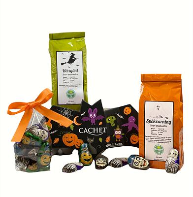Bild av Halloweenpaket med te & choklad
