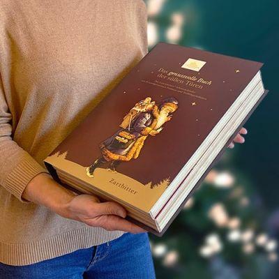 Bild av Adventskalender Bok - Mörk choklad, 2021