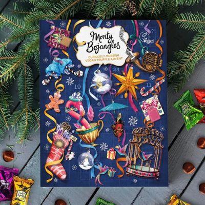Bild av Julkalender med veganska chokladtryfflar - Monty Bojangles, Multi