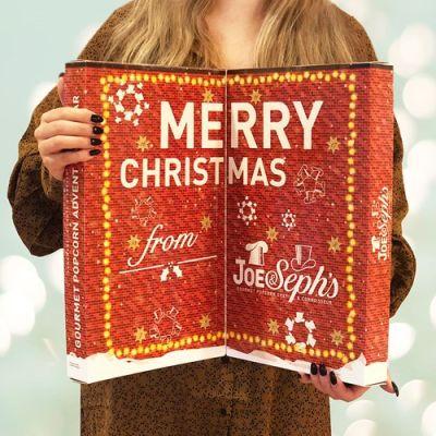 Bild av Popcorn Adventskalender - Joe & Seph's - Röd, Röd